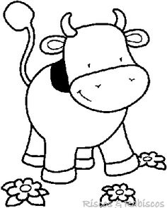 İnek boyama sayfası, cow coloring pages free printable Zoo Animal Coloring Pages, Dolphin Coloring Pages, Farm Animal Coloring Pages, Colouring Pages, Printable Coloring Pages, Coloring Pages For Kids, Coloring Books, Baby Farm Animals, Baby Cows