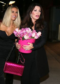 Let's Check In On Lisa Vanderpump's Chanel Bag Collection (and a Few Non-Chanel Bags, Too) Lisa Vanderpump, Housewives Of Beverly Hills, Fluffy Dogs, The Beverly, Beauty Advice, Buy Fabric, Real Housewives, Chanel Bags, Animal Activist