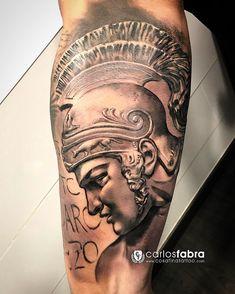 Escultura de Aquiles // Achilles sculture para Salva. Pronto seguimos ese brazo!! Muchas gracias! Realizado en @cosafina_tattoo #aquiles #achilles #sculture #aloetattoo #radiantcolorsink #cosafinatattoo #carlosfabra #tattoo #tatuaje #tat #power