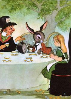 Have a tea party in the garden....