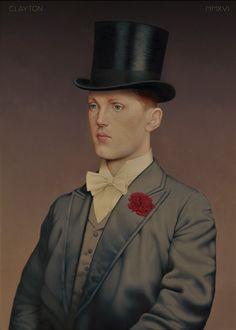 Title: 1157 1157 Eton graduates died in The Great War Oil on Masonite 41.5 cm x 56.5 cm