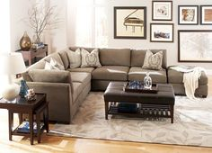 Living Room Furniture, Visions Sectional, Living Room Furniture | Havertys Furniture