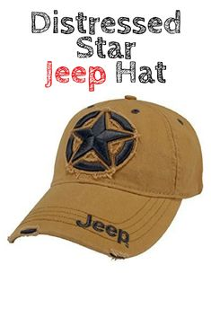 ac46d266 Dress your head in style with this officially licensed 3D Star Jeep Logo Hat.  This