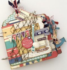 Ahoy Mini Album Kit