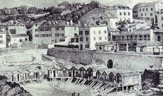 Autrefois Biarritz: Le Port Vieux Biarritz, Retro, Painters, Puertas, Retro Illustration