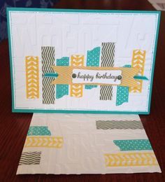 Stampin Up Tape It Card