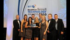 Well Done on that one :-) Winning 'Project Implementation of the Year' with Mint Velvet at the 2010 Retail Week Technology Awards.