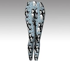 Siberian Husky Leggings by KathysCraftShop on Etsy