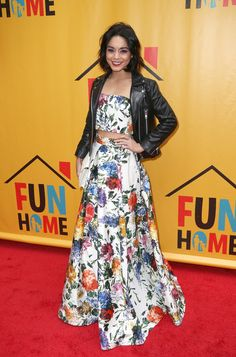 Vanessa Hudgens poses at the Broadway opening performance of Fun Home at Circle in the Square Theatre in New York City on April 19, 2015.   - Cosmopolitan.com