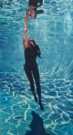 Eric Zener, Wolves And Women, Underwater Painting, Hyper Realistic Paintings, Human Figure Drawing, Sand And Water, Pictures To Paint, Fine Art Gallery, Figure Painting