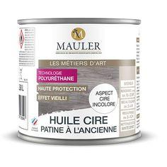 L'huile-cire patine à l'ancienne Mauler est une à base d'huiles d'uréthanes et permet d'obtenir une finition cirée tout en évitant les contraintes d'entretien.L'huile-cire patine à l'ancienne peut s'appliquer sur un bois peint pour obtenir un effet vieilli ou cérusé.L'huile-cire est de haute protection, elle est facile d'entretien et est lavable. Très facile d'emploi, l'huile-cire patine