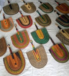 A set of 15 assorted fan // wall hanging woven decor// Best African art style // trending 2020 home decor Home Decor Baskets, Baskets On Wall, Winter Bedroom Decor, Wall Fans, Woven Wall Hanging, Hanging Hats, Fan Decoration, African Home Decor, Ville France