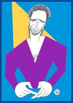 Hugh Caricature