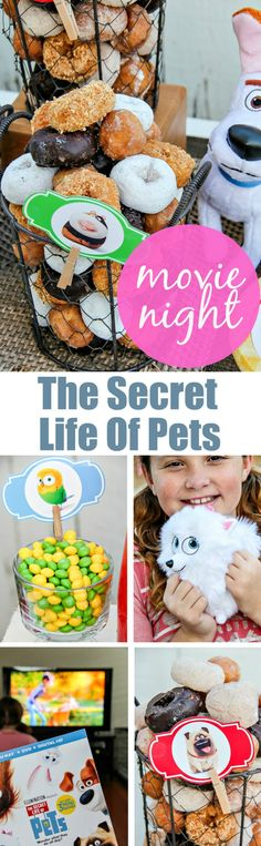 How to plan a family movie night inspired by The Secret Life of Pets (now available on Blu-ray and DVD) that the whole family will love. #TheSecretLifeOfPets #PetPack @PetsMovie AD