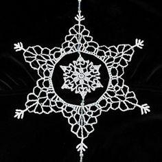 Ravelry: Snowflake Inside a Snowflake pattern by Deborah Atkinson