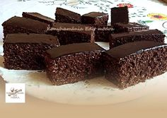 Banana Brownies, Kakao, Dessert Recipes, Desserts, Winter Food, Cakes And More, Coco, Biscuits, Easy Meals