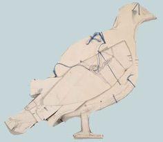 james castle Pigeon, James Castle, Bird Quilt, Art Brut, Rare Birds, Cardboard Art, Naive Art, Art For Art Sake, Outsider Art
