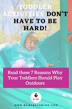 Do you have a toddler and you're facing some challenges on how to engage him for outdoor play? What type of activities do you currently implement in order to build his interests? Check out these Top 7 Benefits of Outdoor Play for Toddlers that will provide opportunities for young children to experience the world with all of their senses. Infant Activities, Activities For Kids, Learning Through Play, Baby Milestones, Outdoor Play, Young Children, Early Childhood, Your Child, Little Ones
