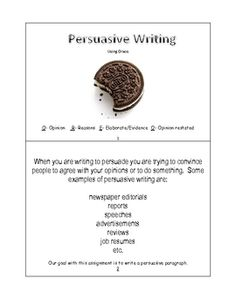 tiered activity writing a persuasive essay Convince me a persuasive writing activity you might be willing to change your mind about it if he can write a convincing and persuasive essay explaining his.