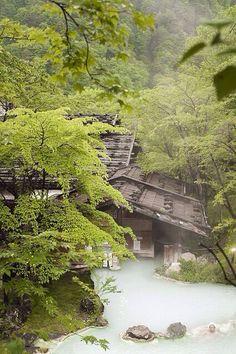 Nagano Onsen in Japan