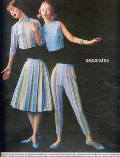https://flic.kr/p/7PJBdH | Separates | From Seventeen, March 1961