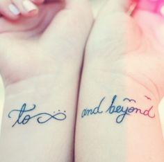 Best friend tatoo!