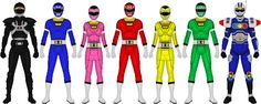Here's Gekisou Sentai with a few extra heroes. VRV Master wasn't really counted in Gokaiger as an extra hero, but I figured he should get some love. Power Rangers Turbo, Go Go Power Rangers, Power Ranger Black, Red Lightning, Team Pictures, Deviantart, Kamen Rider, The Past, Guys