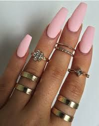 """Résultat de recherche d'images pour """"pastel pink matte nails"""""""