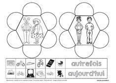 Espace et temps GS CP CE1 (histoire et géographie) - Fiches exercices Les Coccinelles Cycle 2, Continents, Images, Peda, Note Cards, Fall, Ladybugs, Notebook