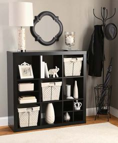 Better Homes and Gardens 9-Cube Organizer. Great for my craft supplies.