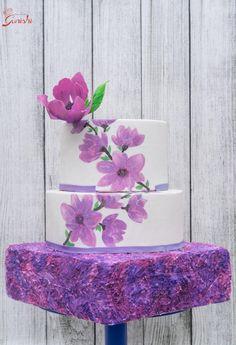 Violet Spring - Caker Buddies Collaboration  by deliciousventures
