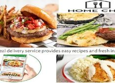 Home Chef the Best Meal Kit Delivered Best Meal Delivery, Meal Delivery Service, Home Chef, Meals For The Week, Salmon Burgers, Grocery Store, Entrees, Good Food