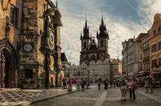 Prague is SO high up on my list. Old Town Square, Prague, Czech Republic Oh The Places You'll Go, Places To Travel, Places To Visit, Travel Pics, Prague Old Town, Prague Castle, Prague Cathedral, Prague Travel, Prague Czech Republic