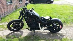 Vulcan 750 bobber. Shadow Bobber, Honda Bobber, Kawasaki Vulcan, Bobbers, Bike Life, Chopper, Custom Cars, One Pic, Cars And Motorcycles