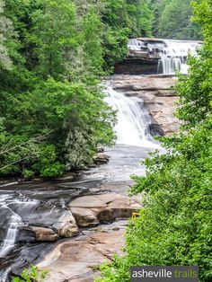 DuPont State Forest waterfall hike: visit Triple Falls, Hooker Falls & High Falls on a 4.5 mile, ultra-scenic hike near Brevard, NC