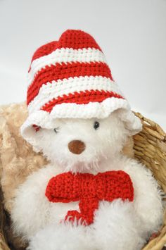 Cat in the Hat Hat and Bow by JLloPhotographyProps on Etsy, $27.99