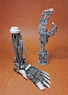"""LEGO Mech Limbs-02"" by ToyForce 120: Pimped from Flickr"