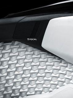 Peugeot Fractal Concept Interior Textures detail