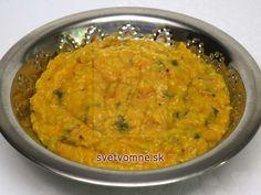 Šošovicovo-tekvicové karí • Recept   svetvomne.sk Curry, Ethnic Recipes, Food, Dental Caries, Curries, Essen, Meals, Yemek, Eten
