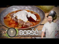 BORŠČ z hotelu Viking (Dnipropetrovsk) Jednoduše a rychle! 👍 - YouTube Beef, Chicken, Youtube, Food, Meat, Essen, Meals, Youtubers, Yemek