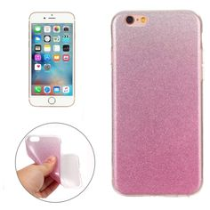 [$1.25] For iPhone 6 & 6s  IMD Color Fades Glitter Powder TPU Protective…