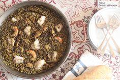 Arroz de chipirones, merluza y gambones, para llenar tu mesa de sabor y color el domingo Gazpacho, Acai Bowl, Oatmeal, Tasty, Yummy Yummy, Cooking Recipes, Breakfast, Hungry Hungry, Diabetes