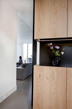 Detail kastenwand. Hubbers interieurmakers - Ontwerp | Realisatie