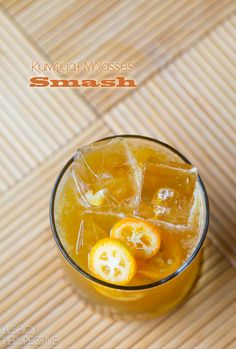 Kumquat Molasses Smash. Sounds interesting. | aspicyperspective.com