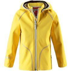 reima-vantti-1 Hooded Jacket, Outdoors, Athletic, Yellow, Kids, Jackets, Fashion, Jacket With Hoodie, Young Children