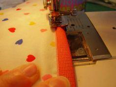 Fold over elastic tutorial