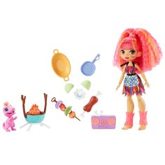 Boombox, Barbacoa, Dress Up Dolls, Barbie Dolls, Doll Toys, Club, Fun Ponytails, Hot Pink Hair, Lego