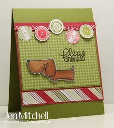 Cute as a Button by jenmitchell - Cards and Paper Crafts at Splitcoaststampers