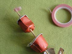 Tutorial rosa de Sant Jordi càpsules Nespresso