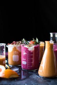 Power Food Fruit Smoothies 2 Ways   halfbakedharvest.com @hbharvest